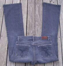 Womens Jeans Size 4 - Calvin Klein LR Flare Stretch Black