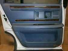 1992 93 94 95 96 Buick Roadmaster Sedan Rear Door Inside Panel  Stored Inside
