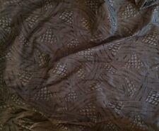 RUBELLI Art Deco Silk Grey Black Strie Printed 13 yds + New
