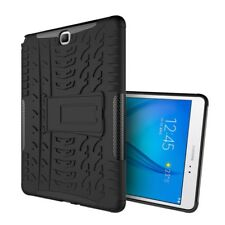 Tablet-Guscio Case TPU #h75 Nero Tyre 3d a Samsung Galaxy Tab a 9.7 - COVER
