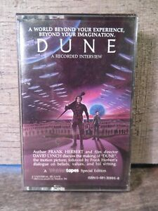 DUNE An Interview w/ Frank Herbert & David Lynch (Cassette) NEW Sealed 1983