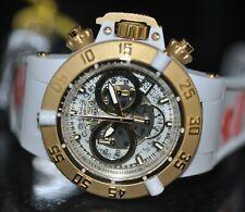 Invicta Subaqua Noma III Quartz Chronograph MOP Dial Pink Poly Strap Watch 16697