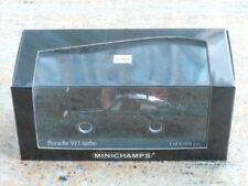 1/43 Minichamps PORSCHE 911 Turbo 1977 Black