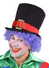 Clown Hut Kappe Melone Zylinder Kostüm Zirkus Kasper Clownkostüm Hose Frack