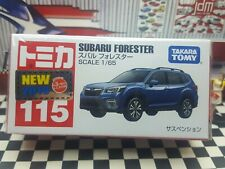 TOMICA #115 SUBARU FORESTER 1/65 SCALE NEW IN BOX  [WYL]