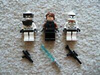 LEGO Star Wars - Rare - Anakin Skywalker , Clone Commander & Clone - From 8898