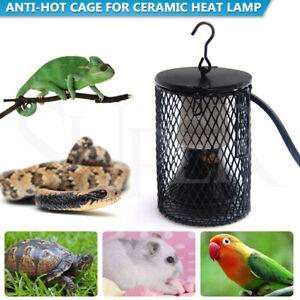 Reptile Ceramic Heat Lamp anti-hot Cage Holder Light Switch Chicken Brooder