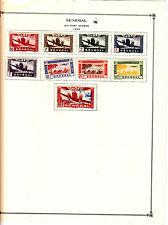 SENEGAL 1942 AIR POST et 3  SERBIA 1942-1943 German occupation lot 144