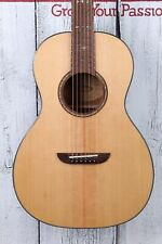 Washburn P33S Royal Sapphire Parlor Acoustic Guitar Solid Spruce Top Natural