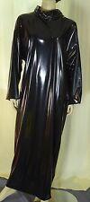 Zofenkleid Maid dress Cameriere vestono zofe devot Schloss closed NEU PVC black
