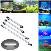 Waterproof White Bule Amphibious Submersible Aquarium LE Lighting Fish Tank Lamp