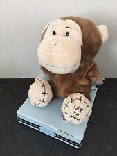 RARE ME TO YOU ANIMAL TATTY TEDDY BEAR ON BOX - DRESS UP - MONKEY