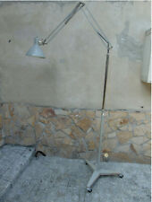 Standing, floor, vintage, industrial lamp from the 70's