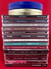 Van Halen 18 CD Collection Lot - 16 Albums Live, UK Limited Edition Tin, & more