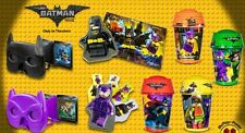 MCDONALDS 2017 BATMAN MOVIE LEGO - SET OF 8 - ON HAND - FREE PRIORITY