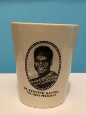 More details for dr kenneth kaunda - zambia independence 1964 commemorative mug