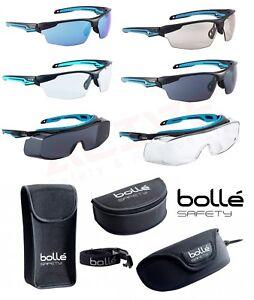 BOLLE TRYON & Bolle TYRON OTG Safety Glasses Anti-Scratch & Anti-Fog Lens