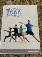 2 Week Yoga Retreat Dvd Set by Beachbody, 2016 -3 Disc, First Week Missing