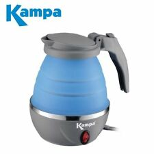 Kampa Squash Folding Collapsible Electric Camping Kettle Caravan Portable Travel