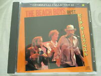 The Beach Boys - Best - CD Original Collection 85 - made in Japan no ifpi