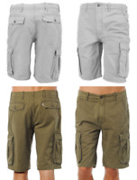 Levis Men's Cotton Ace Cargo Shorts Relaxed Fit Gray Green Blue Black