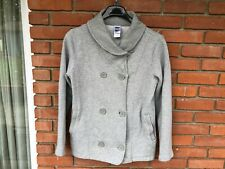 The North Face  Woman's Heather Gray Button Jacket Blazer  88% Cotton  Size L