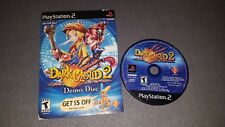 Dark Cloud 2 Demo Disc w/ Cardboard Sleeve (PlayStation 2 PS2) Tested