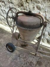 Vintage Electric Cement Mixer