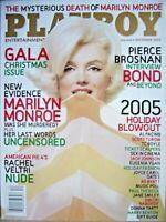 Playboy magazine-December 2005-Actress Rachel Veltri