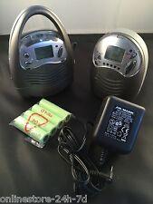 Funk Babyfon Babysitter 400m Reichweite Babyalarm Überwachungsanlage Sprechend
