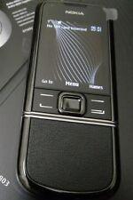 Nokia 8800e-1 Sapphire Arte Black Original Ohne Simlock Life Timer 00:00 w.Neu..