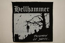 """Hellhammer Cloth Patch Sew On Black Metal Immortal Gorgoroth  4""""X4"""" (CP154)"""
