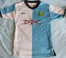 Norwich City FC Hogar Camiseta De Fútbol. Centenario Camisa 2002.