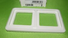 BERKER 132909 Rahmen 2-fach mit Dichtung IP44 polarweiß (841)