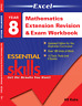 EXCEL YEAR 8 MATHEMATICS EXTENSION REVISION AND EXAM WORKBOOK 9781740203166