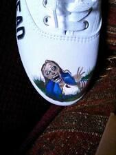 The Walking Dead Custom Fan Art Hand Painted Shoes