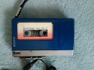 Vintage Sony Walkman Cosplay Prop Guardians of the Galaxy TPS-L2 Theme Working