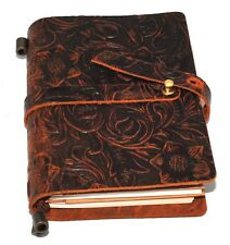 1x Leather Notebook Journal Handmade Vintage Leather Travel Diary Notepad Note