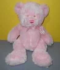 """16"""" Baby Ganz Plush Teddy Bear Dream Teddy GB1700 - Pink Plush w/ Sean Eyes"""