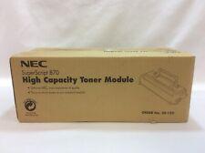 BRAND NEW NEC SuperScript 870 High Capacity Toner Module Model 20-122