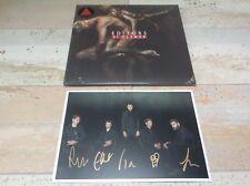Editors Violence Red Vinyl LP & Limited Edition Signed Art Print + download code