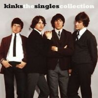THE KINKS - THE SINGLES COLLECTION  CD 25 TRACKS SOFT ROCK/BEAT POP BEST OF NEU