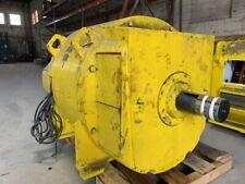 1000 HP General Electric DC Electric Motor 900 RPM Fr 7662 DPFVBB 500 V EOK