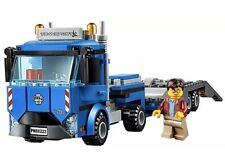 LEGO City Articulated Lorry Transporter Truck & Driver Minifigure 60223