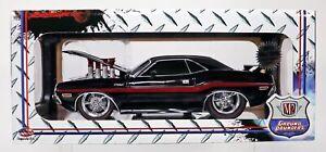 M2 Machines 1970 Dodge Challenger M&J Toys Limited Edition #91165 NRFB Blk 1:18