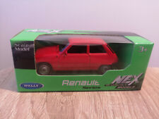 Welly NEX Renault 5, Red, No. 52361 - 1:64 1/64 1:60 1/60