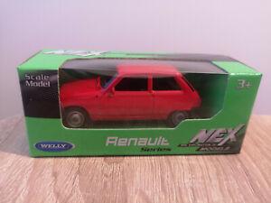 Welly NEX Renault 5, Red, No. 52361 - 1:64 1/64 1:60 1/60