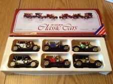 CLASSIC CARS MADE IN HONG KONG  SET OF 6 With Box