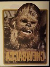 Vintage 1977 Star Wars Chewbacca Iron-On T-Shirt Transfer Unused!