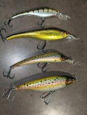 (Lot of 4) Sebile Koolie Minnow Shad Stick Acast 125 145 155 165 Fishing Lure